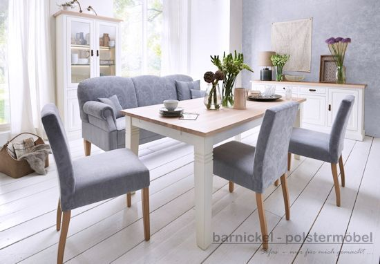 Barnickel polstermobel modell quothamburgquot for Küchensofa landhausstil