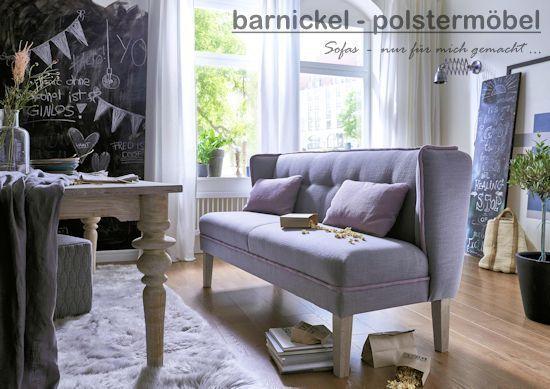 barnickel-polstermöbel, küchensofa, Tischsofa und Dinnerbank